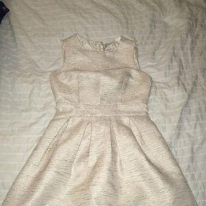 Cream and Gold F21 Dress